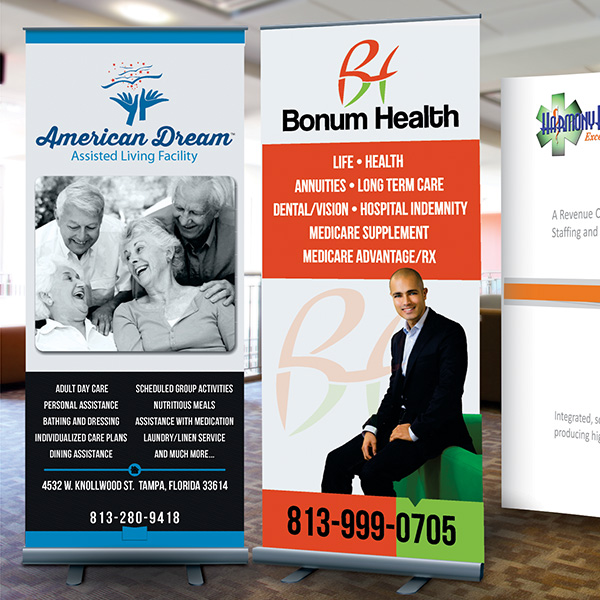 Custom Printing Banners, Vinyl Banners, Retractable Banners